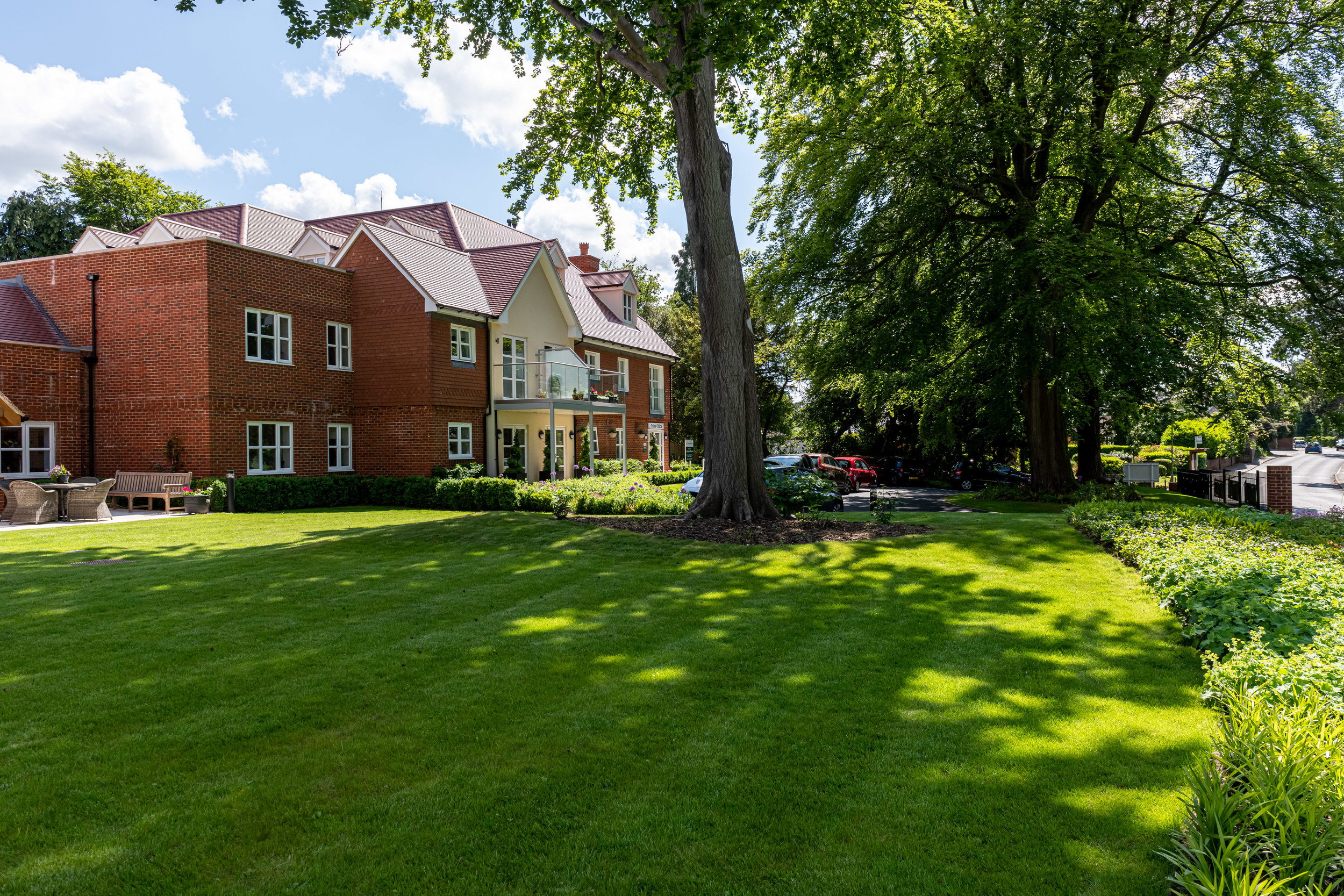 Langton House, Warlingham, Surrey. A McCarthy and Stone Retirement Living development for the Over 60s.