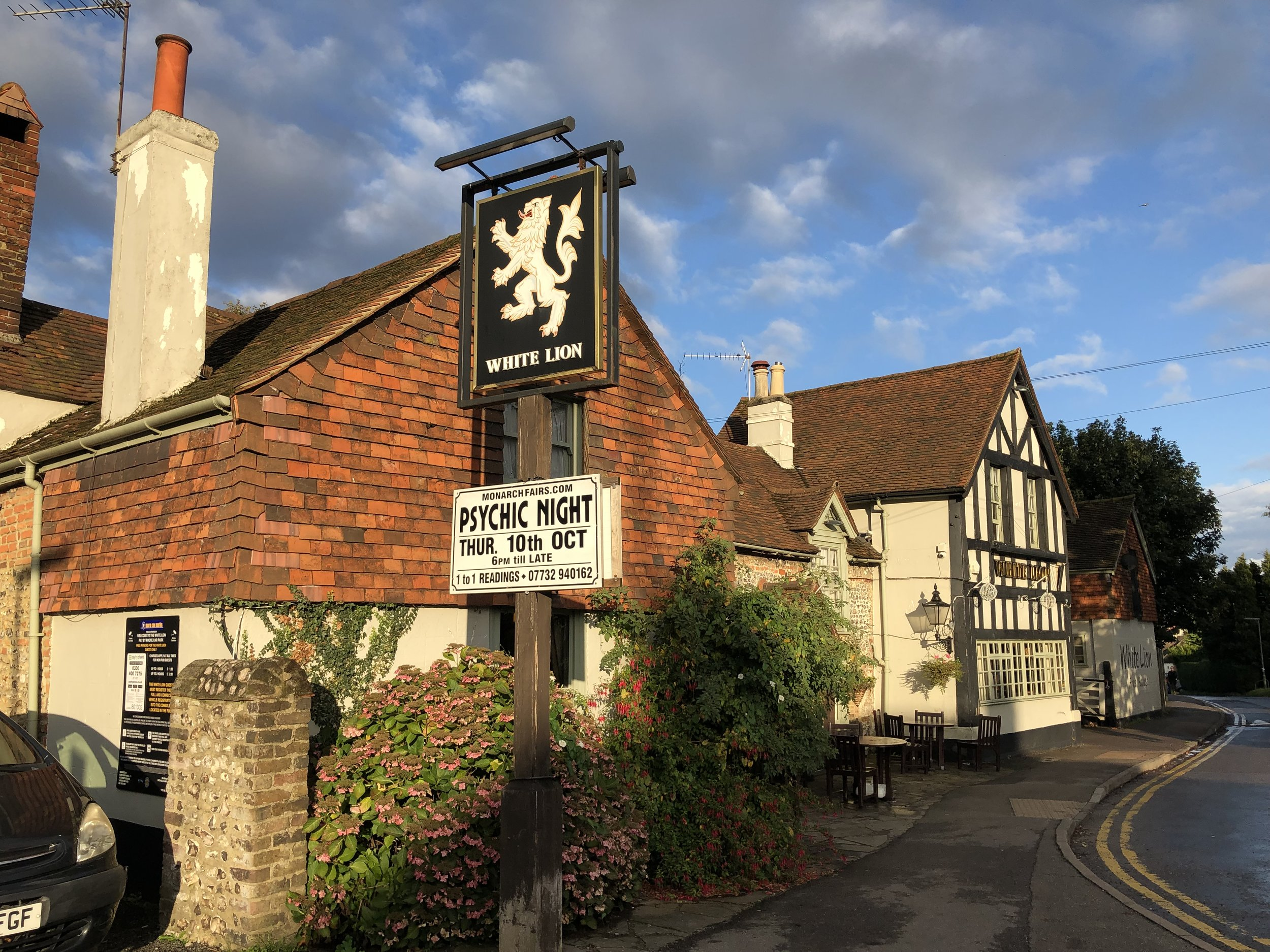 The local pub in Warlingham.