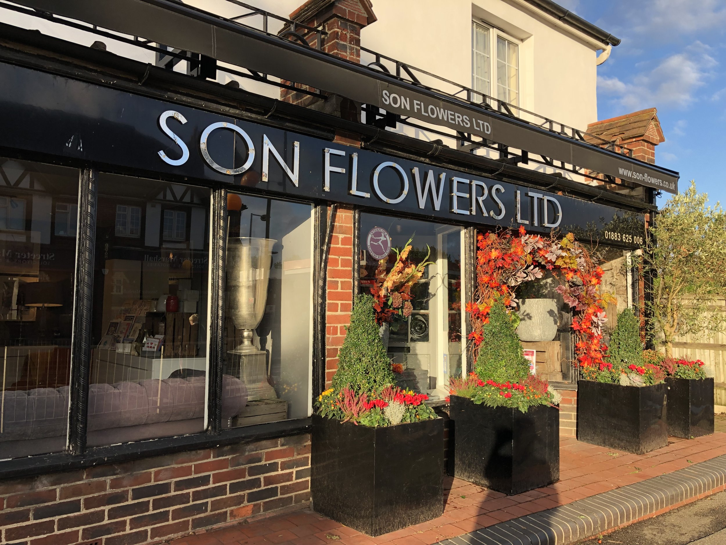 This local florist is ready for Autumn.