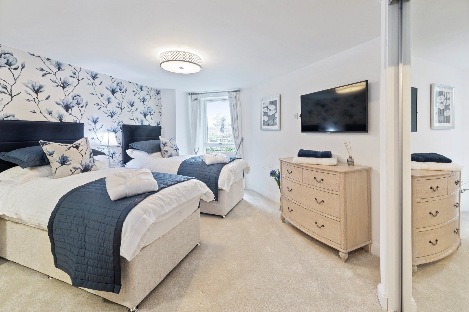 An example of the guest suites that McCarthy and Stone developments have for overnight visitors.