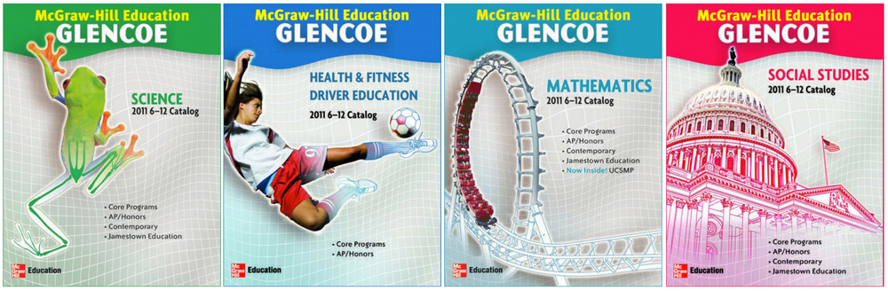 McGraw-Hill 2011 program catalogs  Conceptualized and designed in InDesign and Photoshop