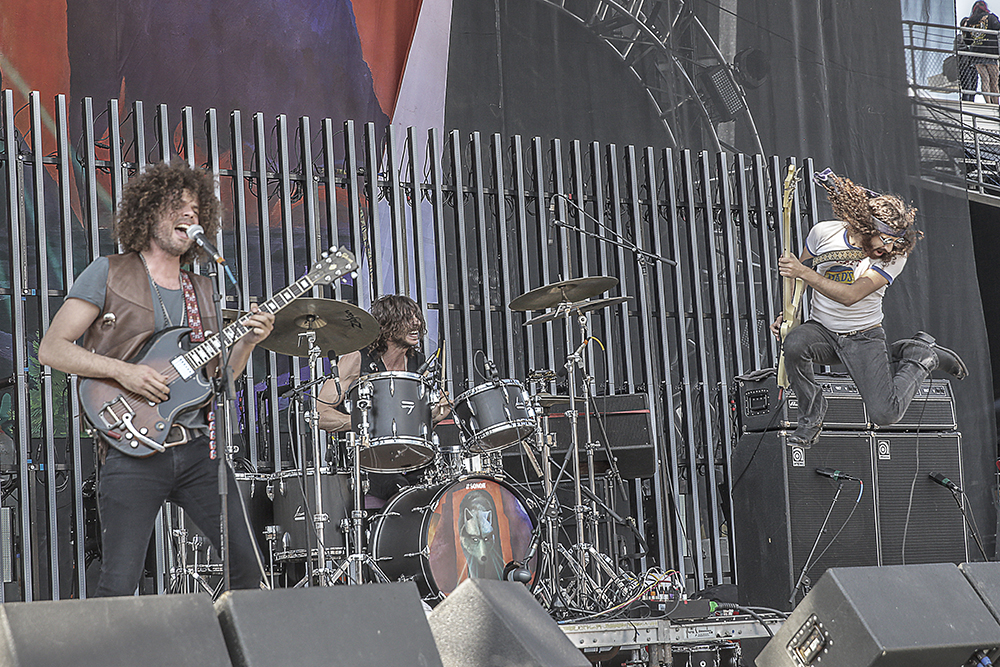 Wolfmother was my personal favorite. They were energized, grateful to be there, and of course, they destroyed it!