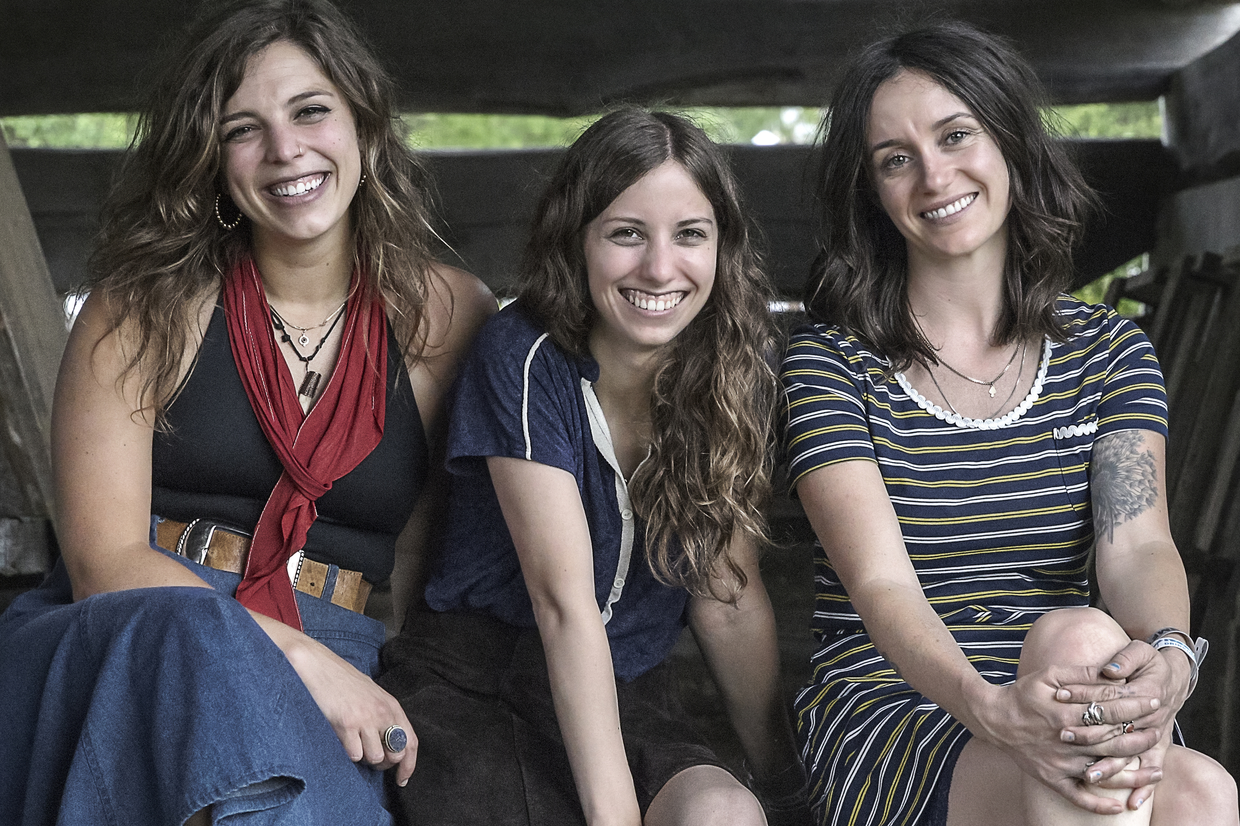 (From Left) Kinsey, Sharon, and Mackenzie of the Wild Reeds