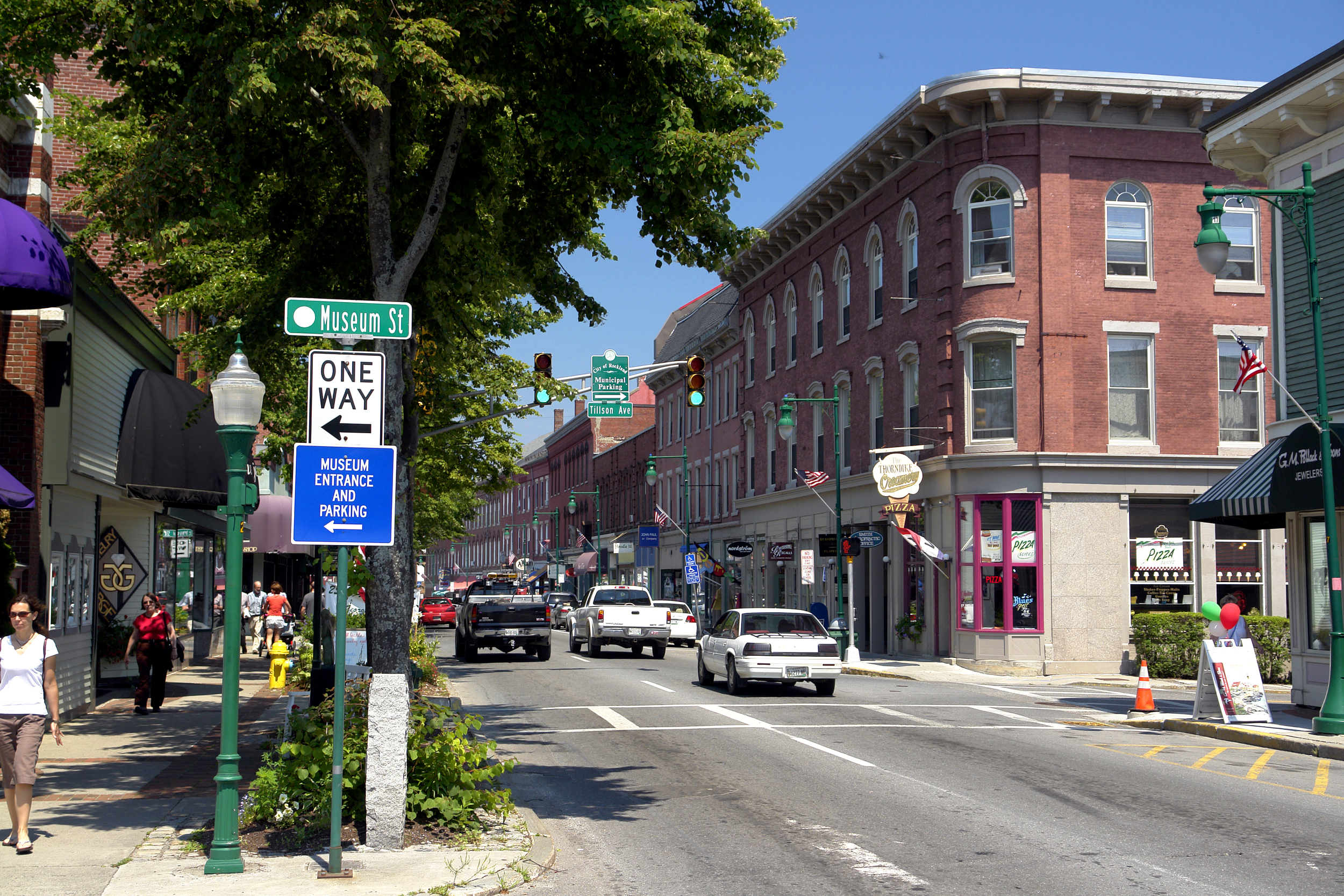 Downtown Rockland