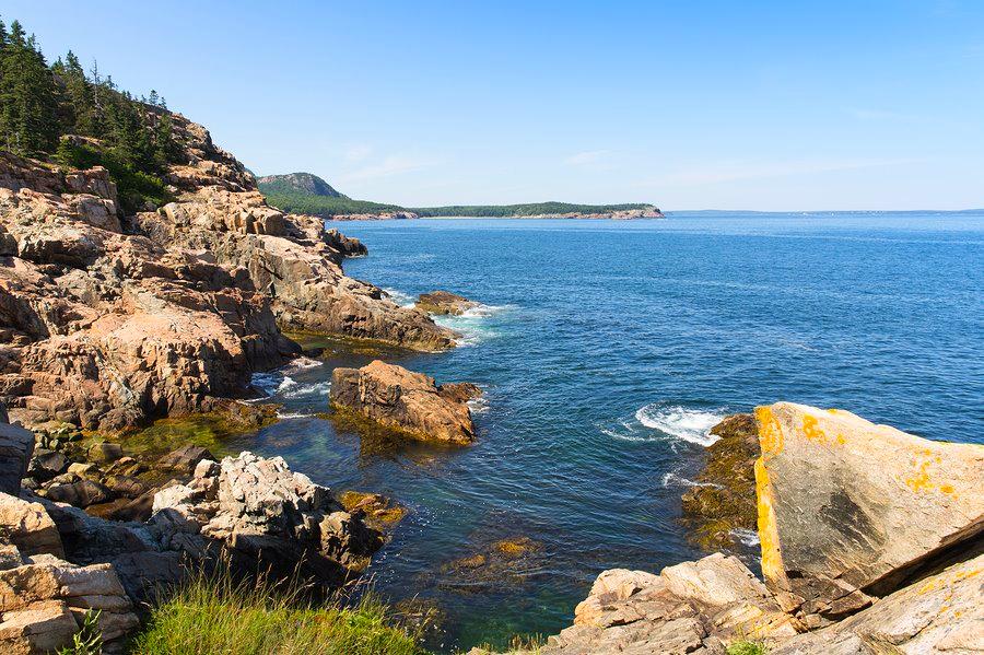 Otter Rocks in Acadia National Park