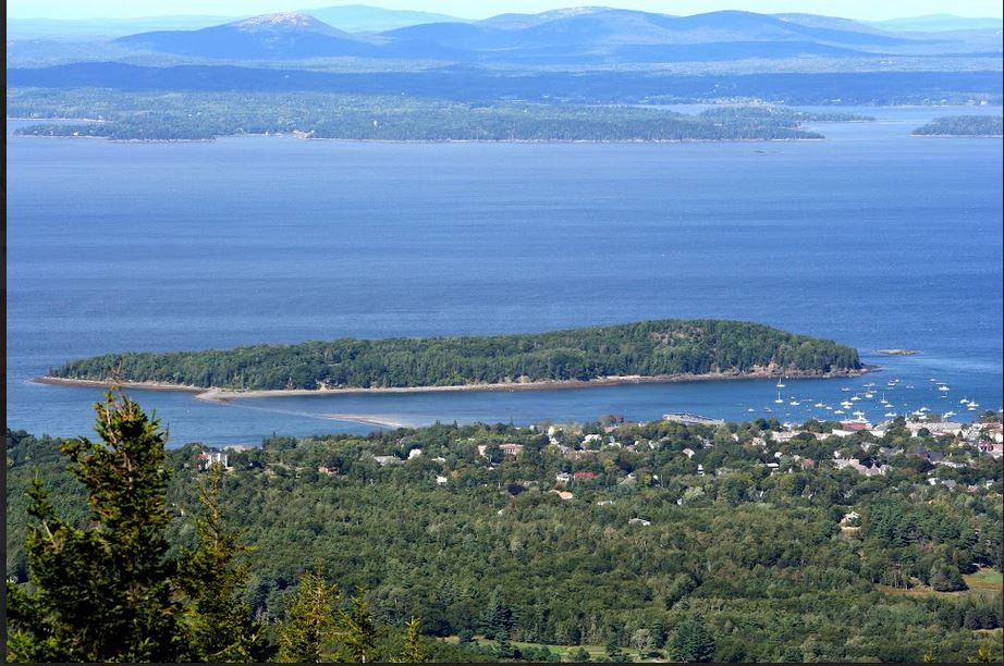 View from atop Cadillac Mountain. Photo by  PJ Walter Photography .
