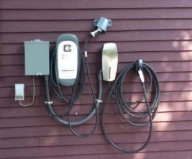 Berry Manor Inn charging station.
