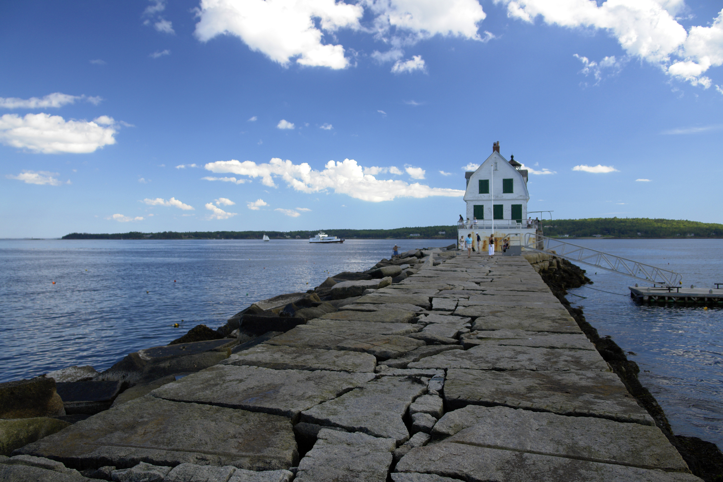 Rockland Breakwater Lighthouse, Photo by  PJ Walter Photography .