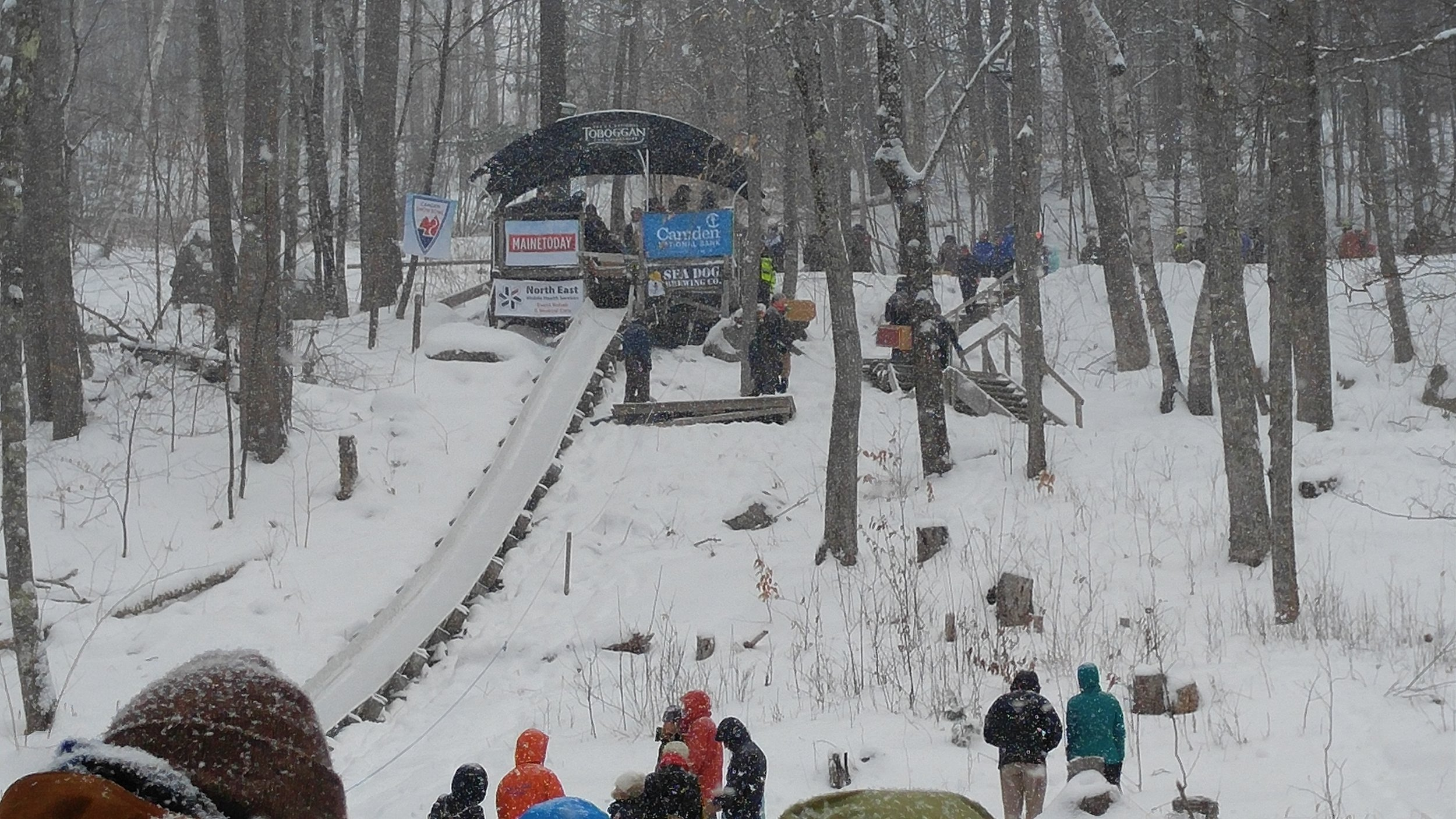 U.S. National Toboggan Championships at the Camden Snow Bowl