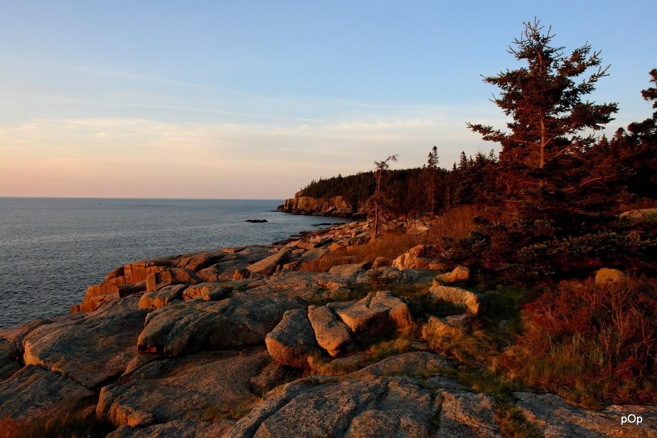 Fall sunrise in Acadia