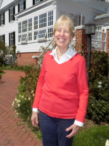 Sarah Lindblom, innkeeper at Captain Jefferds Inn in Kennebunkport