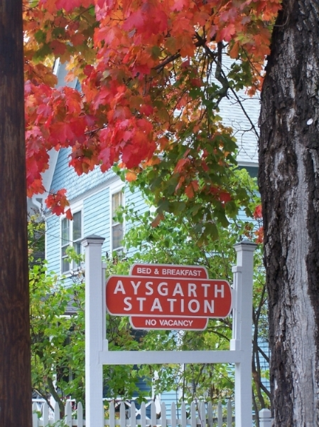 Aysgarth Station B&B, Bar Harbor, ME