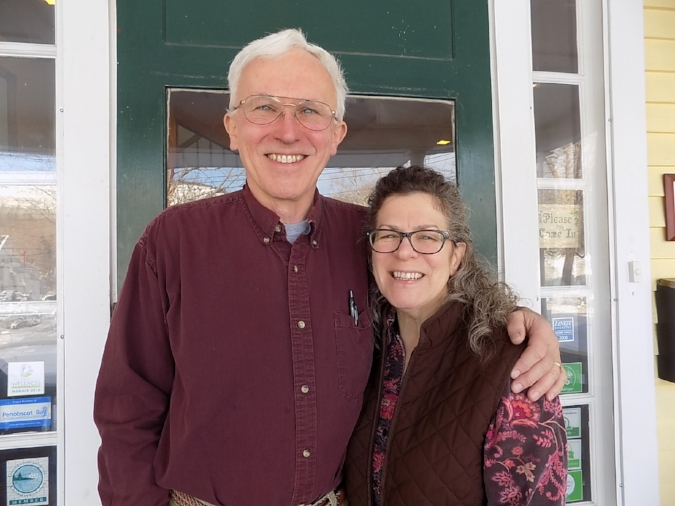 Ted and Lisa Weiss, innkeepers at the Hawthorn Inn in Camden