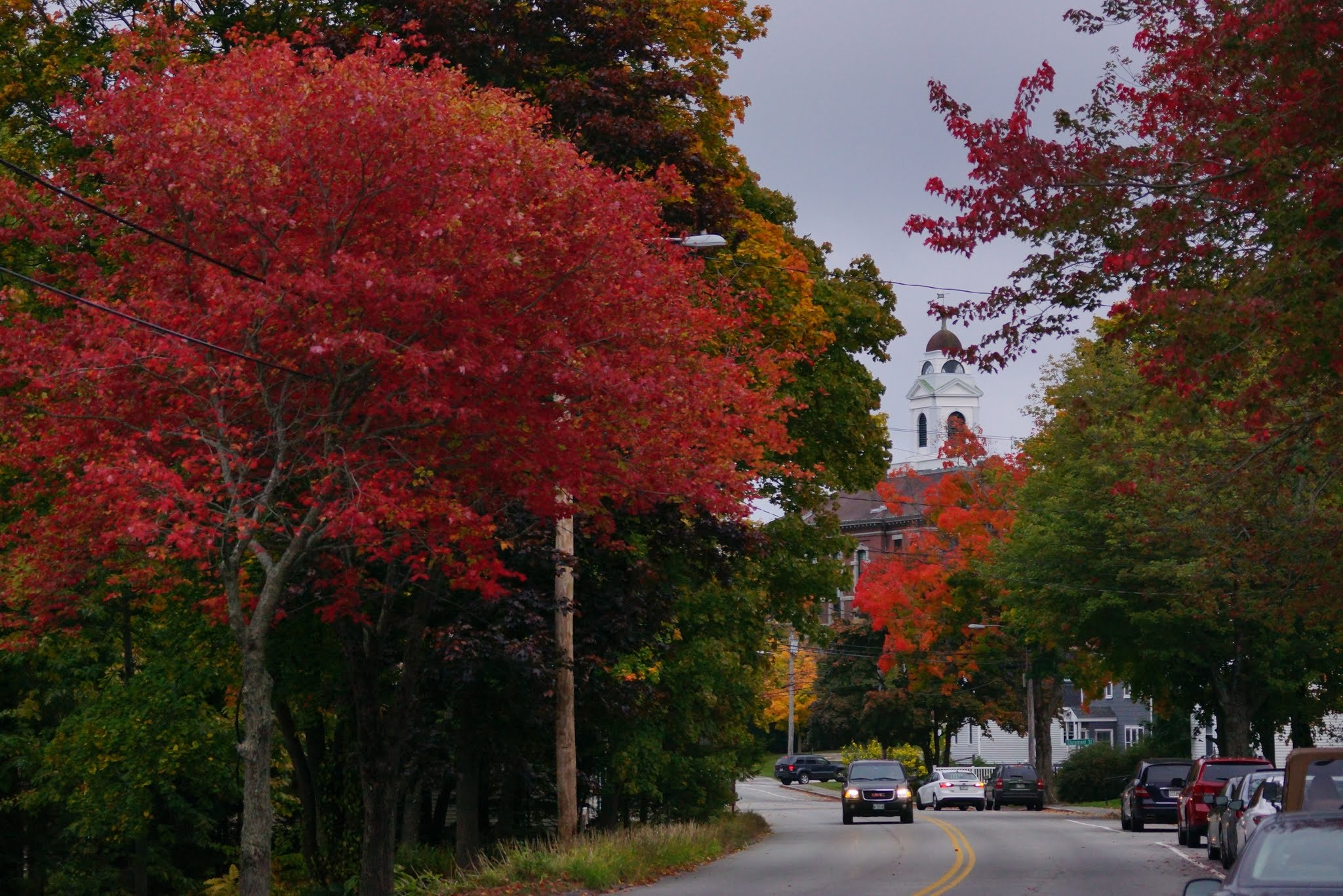 Rockland, Maine in all its fall splendor. Photo by PJ Walter Photography.