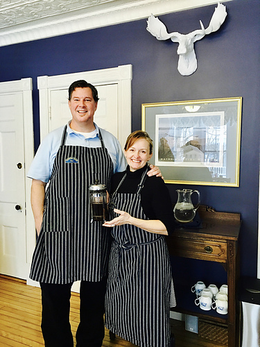 Kelleigh and Dave, your innkeepers at Brewster House Inn.