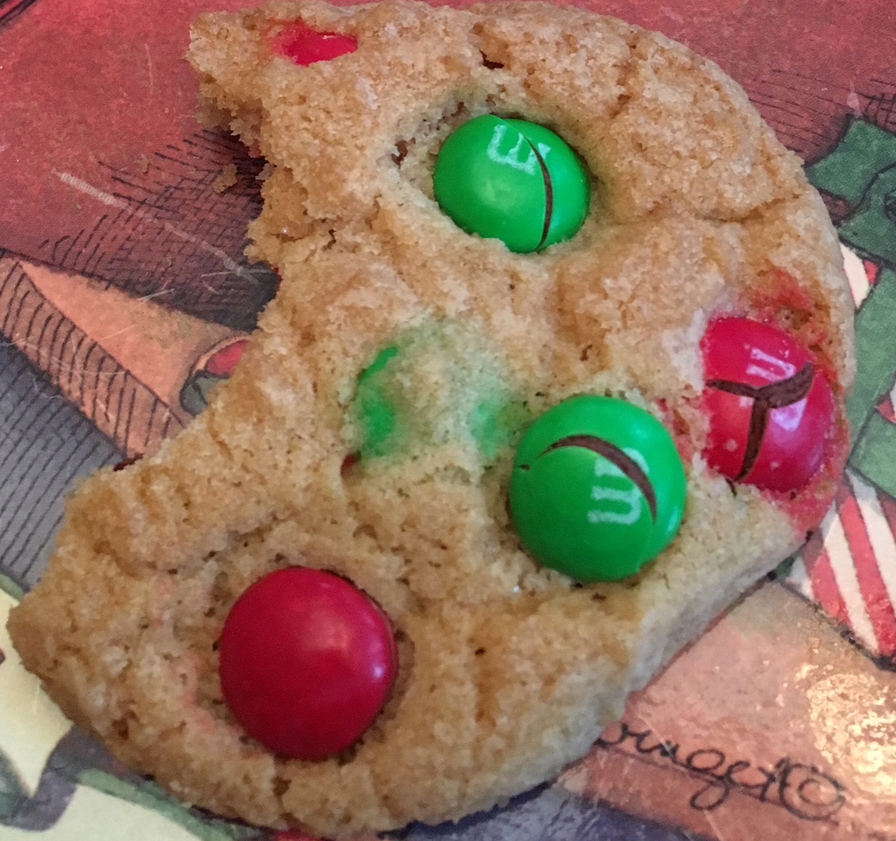 Scrumptious holiday cookies are the highlight of the afternoon at Aysgarth Station B&B.