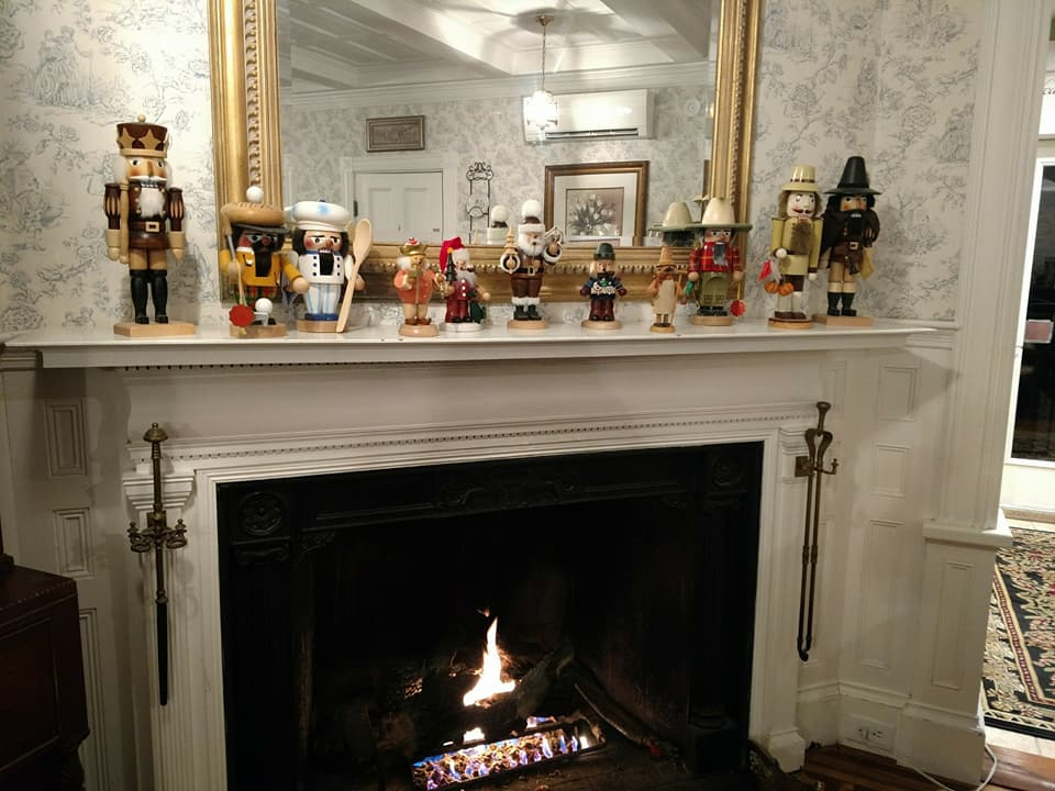 Just blocks from Aysgarth Station, Saltair Inn Waterfront B&B sports its own collection of nutcrackers, offered for show during the holiday season.