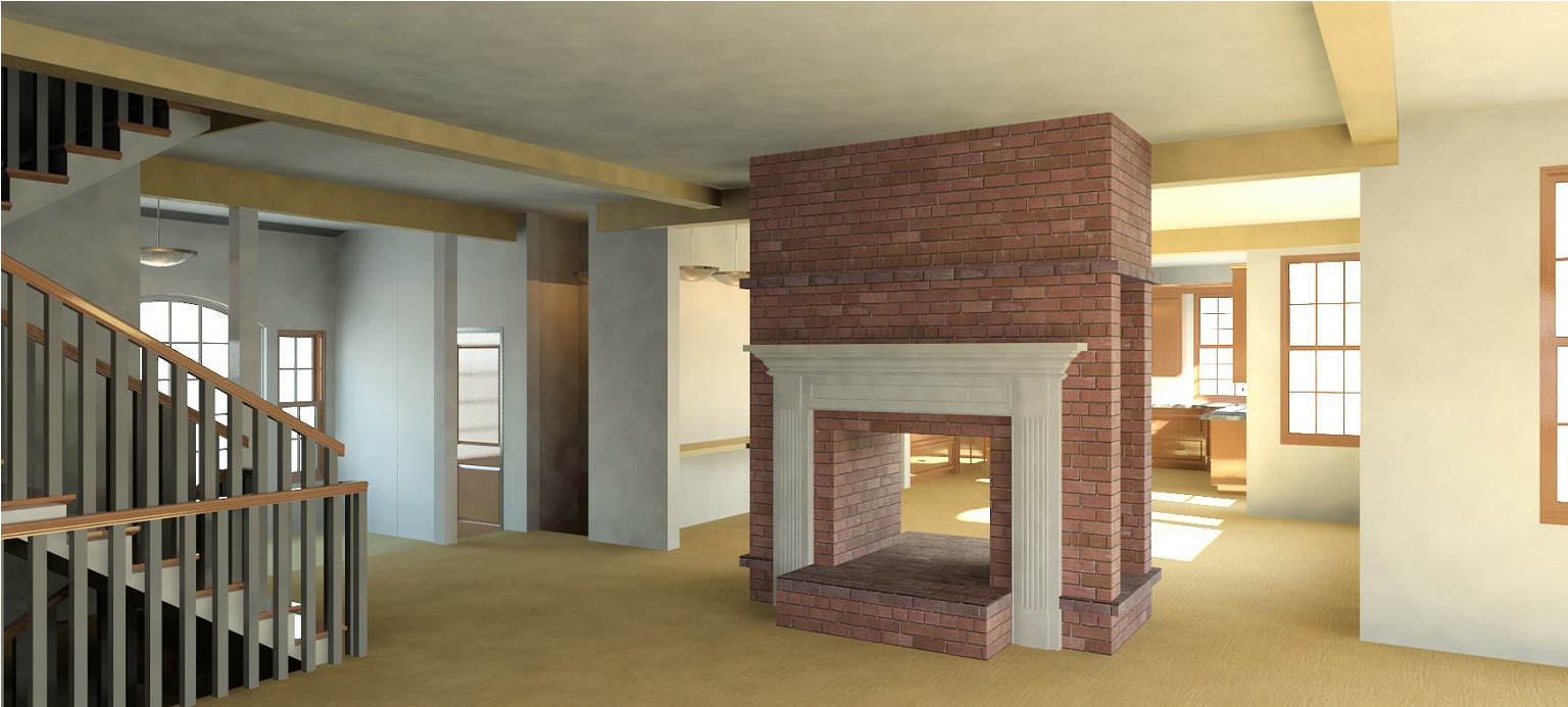 Lewis Residence Fireplace Living Room.jpg