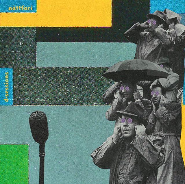 Album art for the legendary post rock band Náttfari  #postrock #nattfari #coverdesign #icelandicmusic #dsessions