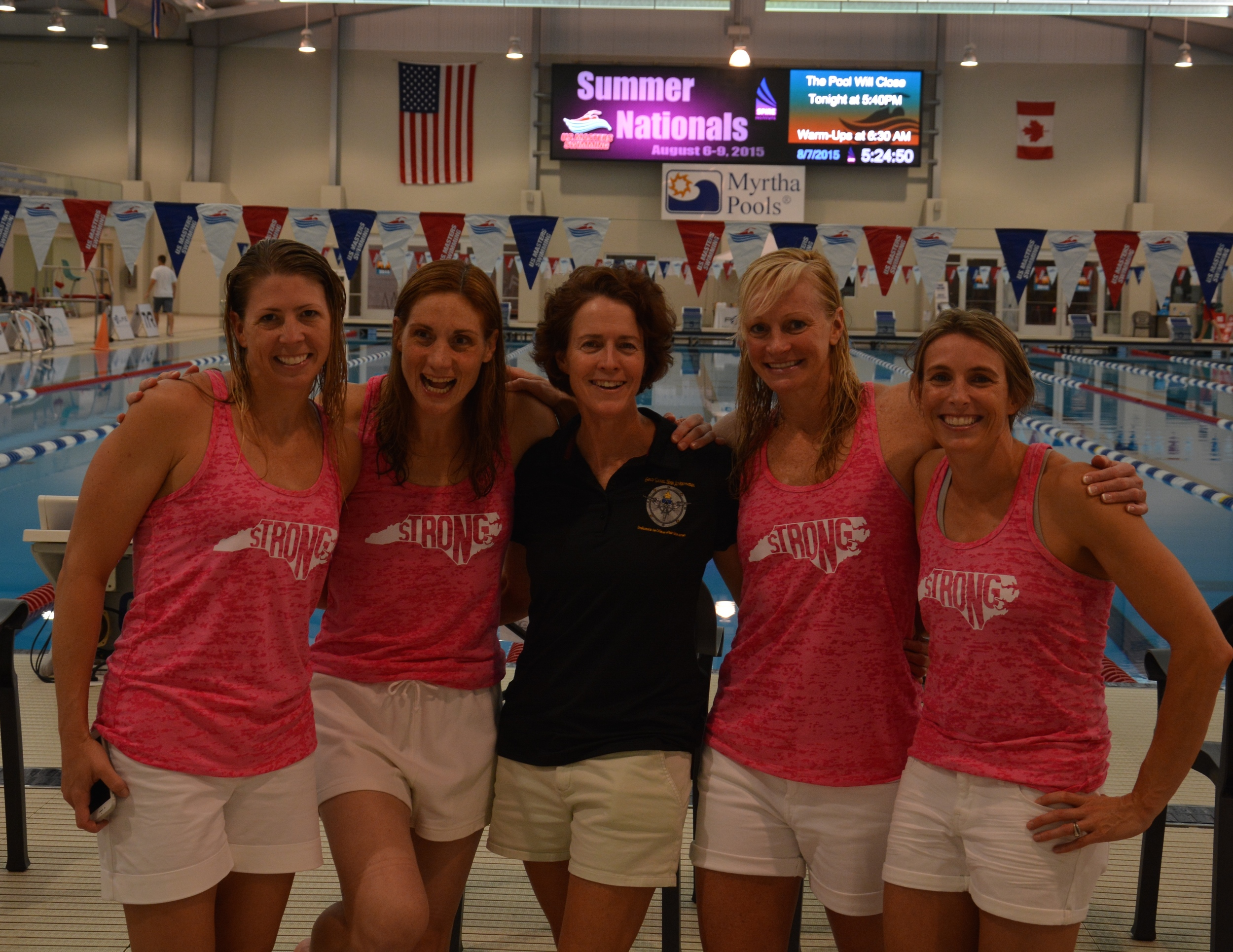 North Carolina women representing at Masters Nationals!