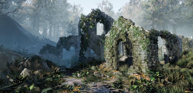 Ancient Ruins by Kassondra Krahn