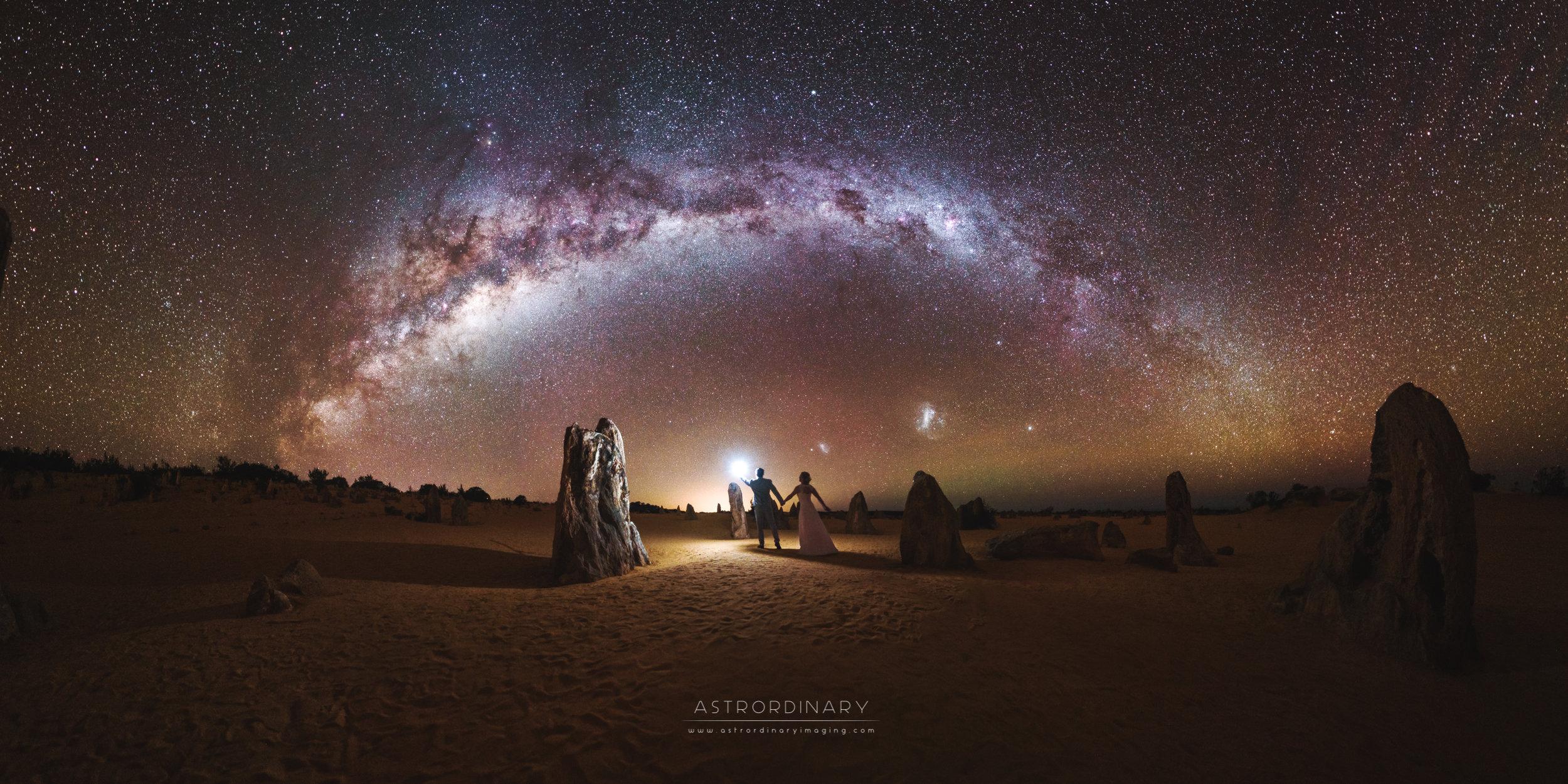 The Lovers' Tryst  The Pinnacles Desert, Western Australia