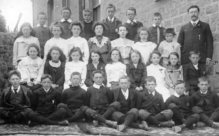 Dornoch Burgh School 1890. Our Great Uncle John is back row second from right