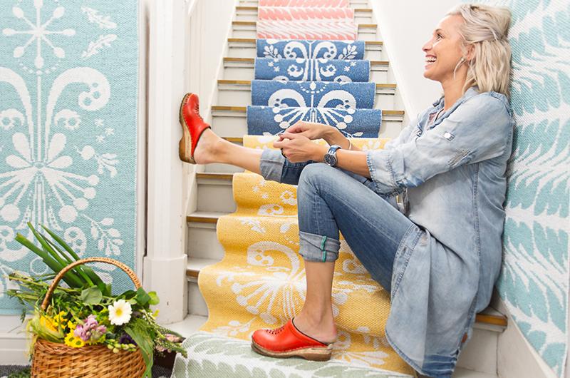 Tina Nordströms textil kollektion. Foto:  Ekelund