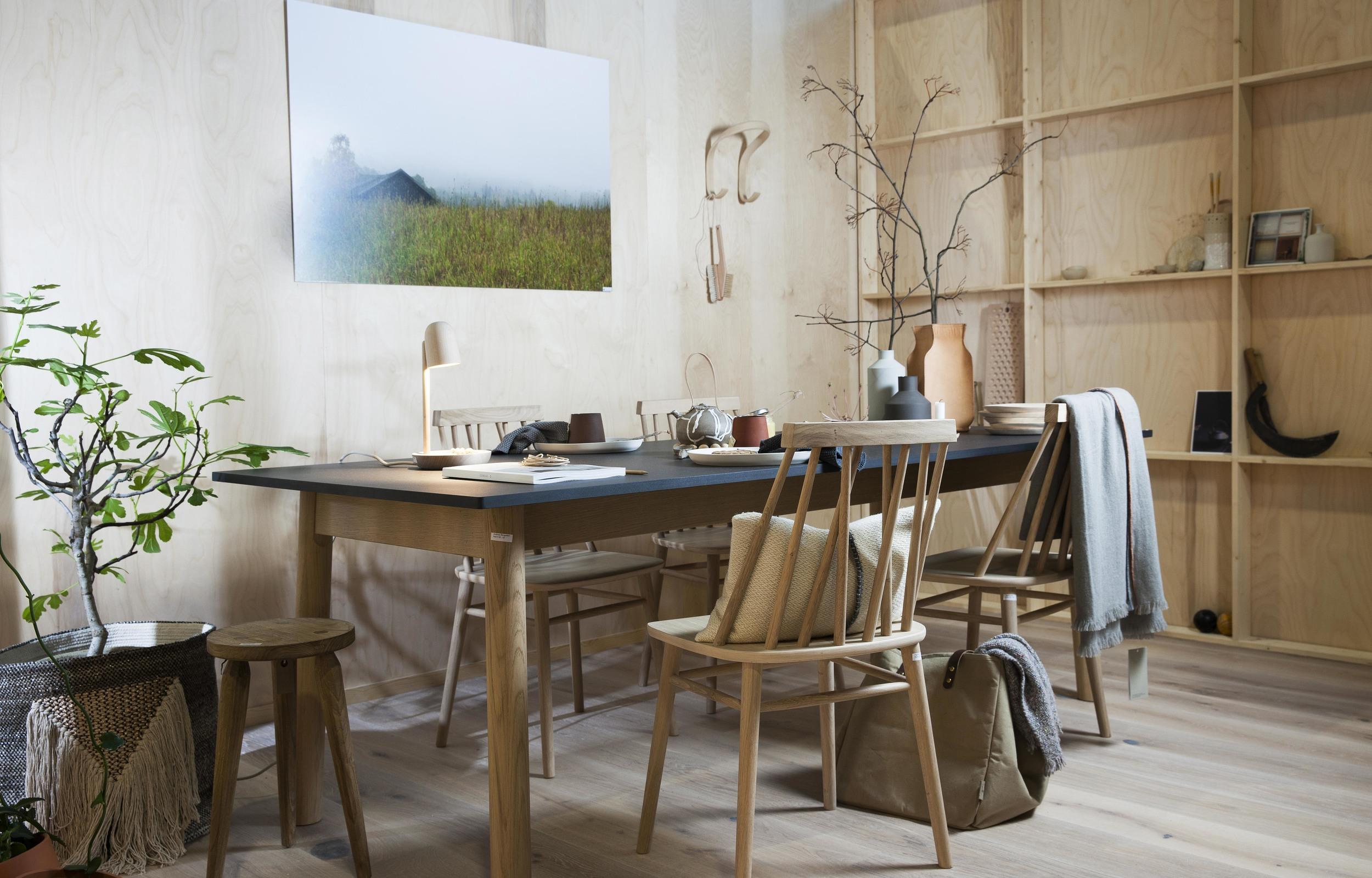 Styling av Hege Barnholt. Foto:  Oslo Design Fair