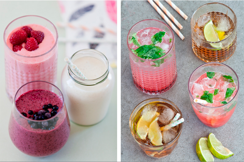 Friske og sunne smoothies eller søte og fruktige drinker? Bilder fra min første kokebok; LavFODMAP - Magevennlig Mat .
