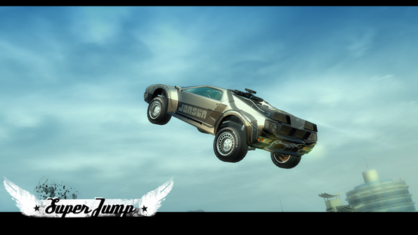 Criterion added some nice jump animations for certain vehicles.