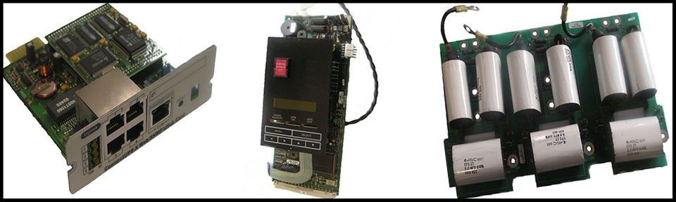 UPS Repair Parts, Service, Boards, ASSY, IGBT, Inverter, SCR, Contactor, Fans, Blowers