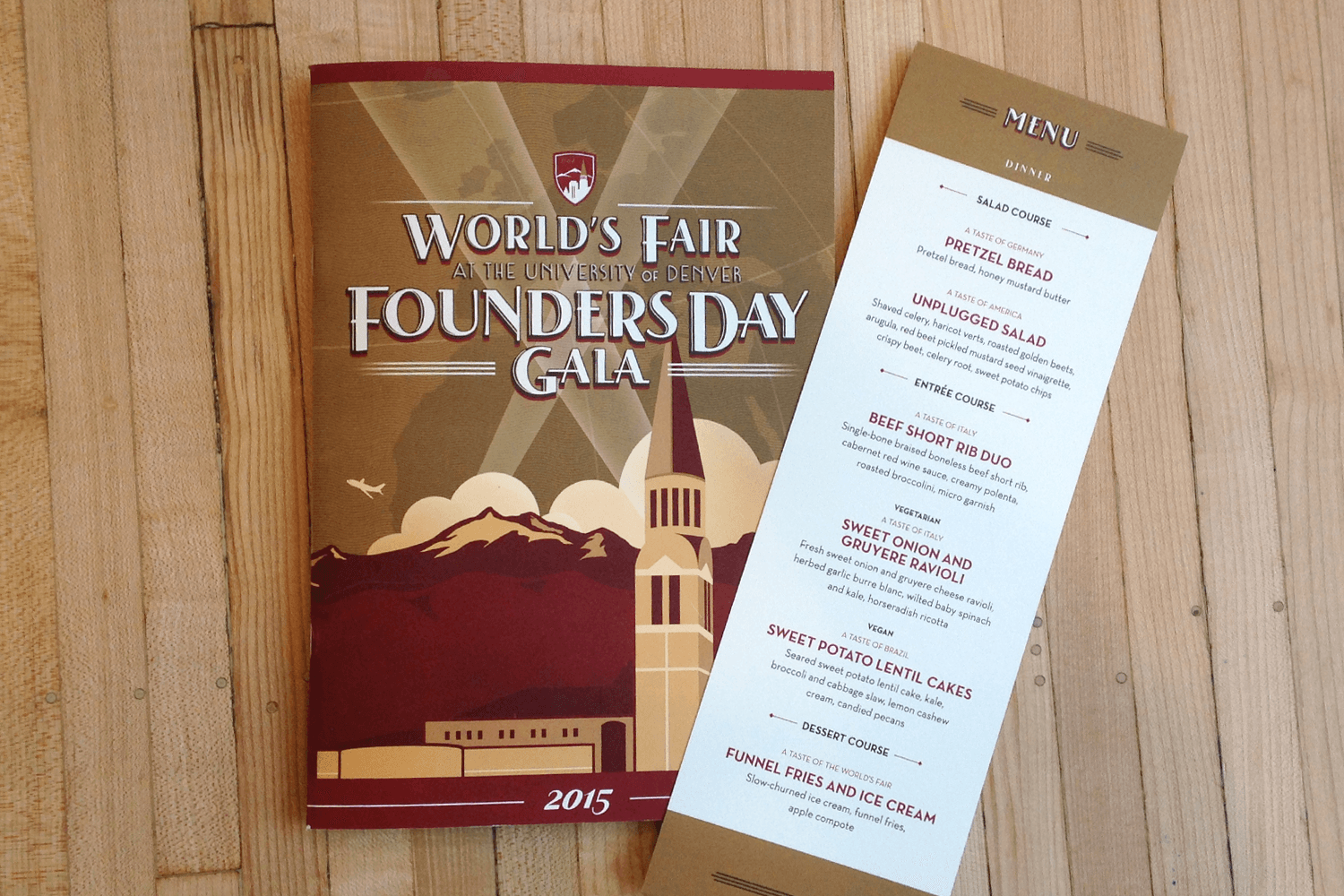 FOUNDERS DAY GALA COLLATERAL