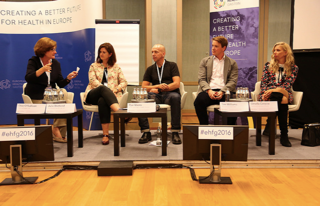 """""""mHealth lessons to be learned"""" panel"""