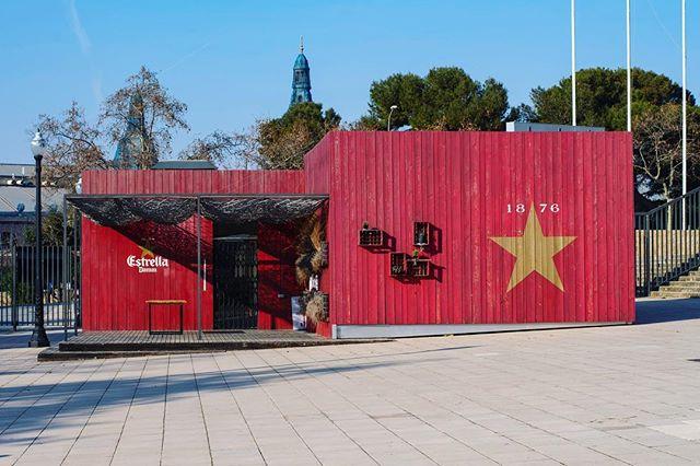 Explored the Olympic park area of Montjuïc... found this Esterella bar which was closed … …  #cityscapes_unlimited #city_captures #cityview #cityscape #cityphotography #barcelona #barcelonaphotography #spain #espana #montjuic #montjuïc #travelphotography #travelgram #beautifuldestinations #explorer #exploretheglobe #goexplore #architecture_greatshot #barcelonaspain #barcelona_world #ig_barcelona #visitbarcelona #barcelonagram #thebarcelonist #ig_catalonia #monumental_catalunya #estrella