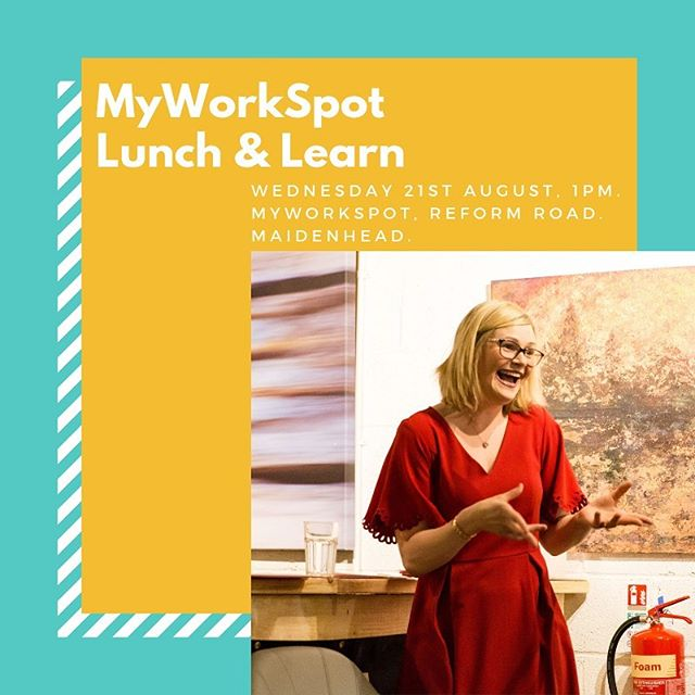 Come along to my FREE event this week at @myworkspotuk I'll be hosting my first Lunch & Learn on this coming Wednesday at 1pm on 'How to make your business more accessible'. Book your FREE ticket via Eventbrite! Link in Bio!  I'll be sharing my knowledge on how you can make your business accessible to people with all kinds of disabilities as well as inside hacks on surviving in business as a woman with a disability.  The #DeterminationandDisability blog series has given me the chance to work with female business owners with disabilities up and down the country and share their stories and what I've learnt about accessibility in business. Huge thank you to the team at MyWorkSpot for the opportunity!  #lunch&learn #myworkspot #coworking #maidenhead #berkshire #august #event #disability #accessibility #business #DeterminationAndDisability #womeninbusiness #awareness #publicspeaking #cerebralpalsy #achievement #opportunity #kirstymeredithphotography
