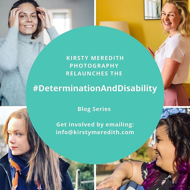 The #DeterminationAndDisability is relaunching! :-) I'm looking for fresh faces to appear on the blog. I'm also opening it up to both female and male business owners who have a disability. If you would like to be interviewed and share you story to help raise awareness for running a business with a disability, I'd love to hear from you. You can drop me a DM or email me at: info@kirstymeredith.com Please repost and help raise awareness. #DeterminationAndDisability #disability #disabilityawareness #raiseawareness #cerebralpalsy #businessowners #femalebusinessowner #malebusinessowner #blog #blogseries #relaunch #passion #repost #instadaily #instagood #instaphoto #inspiration #inspire #determination #disabilityrights #disabilitychampion #kirstymeredithphotography