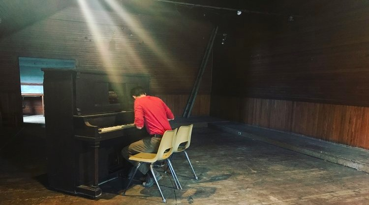Isaac Green Diebboll will be performing an original piano piece titled  'Requiem For My Father'