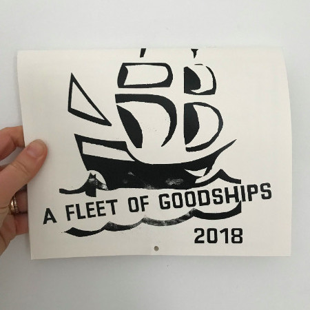We made a calendar of Goodships for you,  get yours now