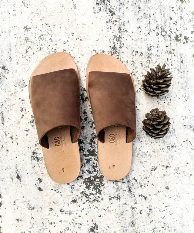Loveliest  leather sandals  this side of the Aegean. Made in Greece.