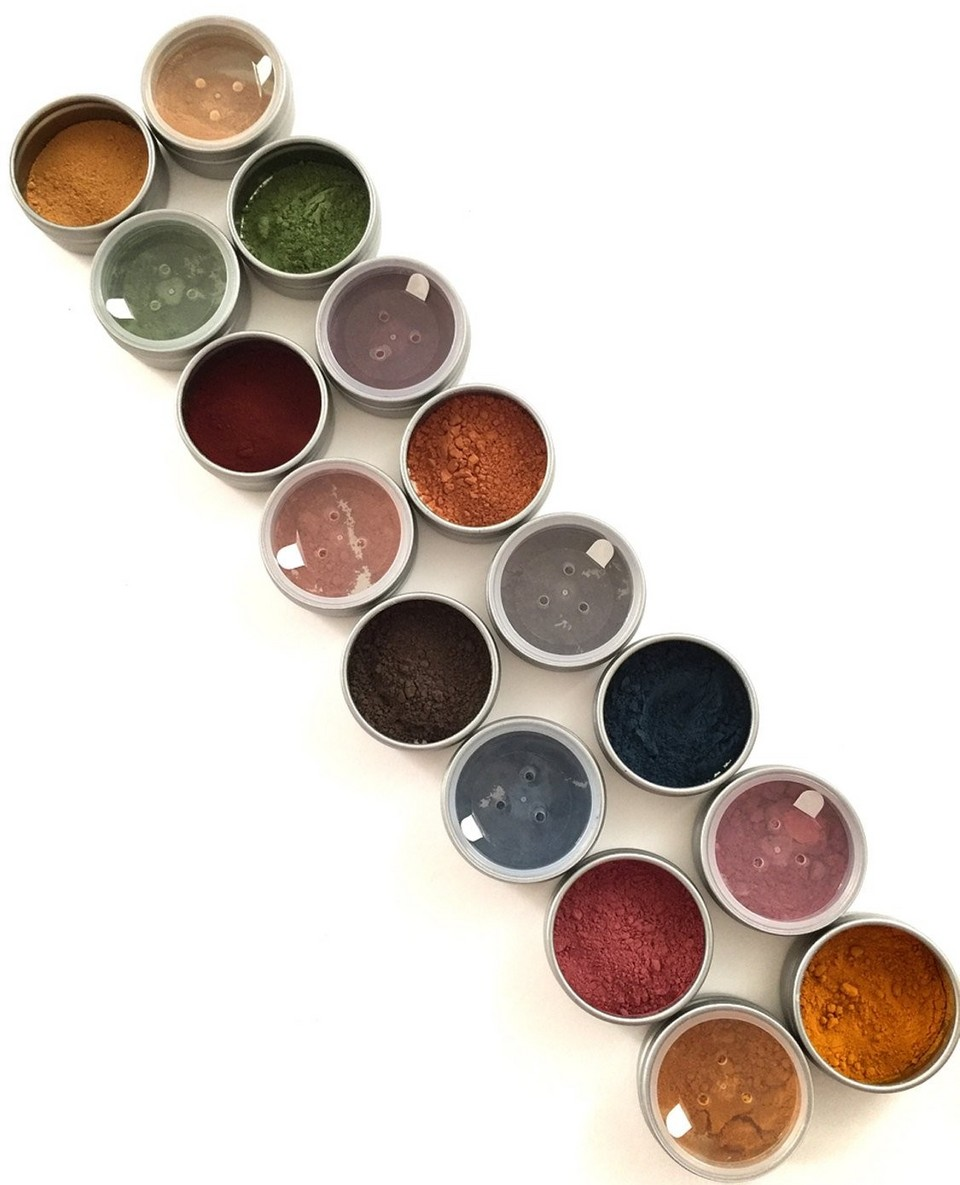 Do you get as excited about natural color as we do? What about  herbal eyeshadow ? YES PLEASE! Do you remember the 80's? Well dream wild, let Boy George lead the way as you rub these roots and leaves into your lids. Only $9.50 a color. We are dying over the  Indigo .