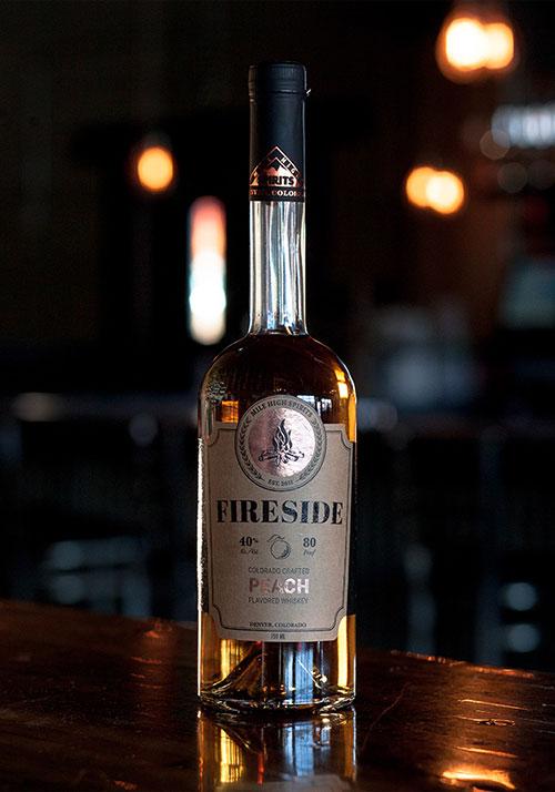 Fireside Peach Whiskey