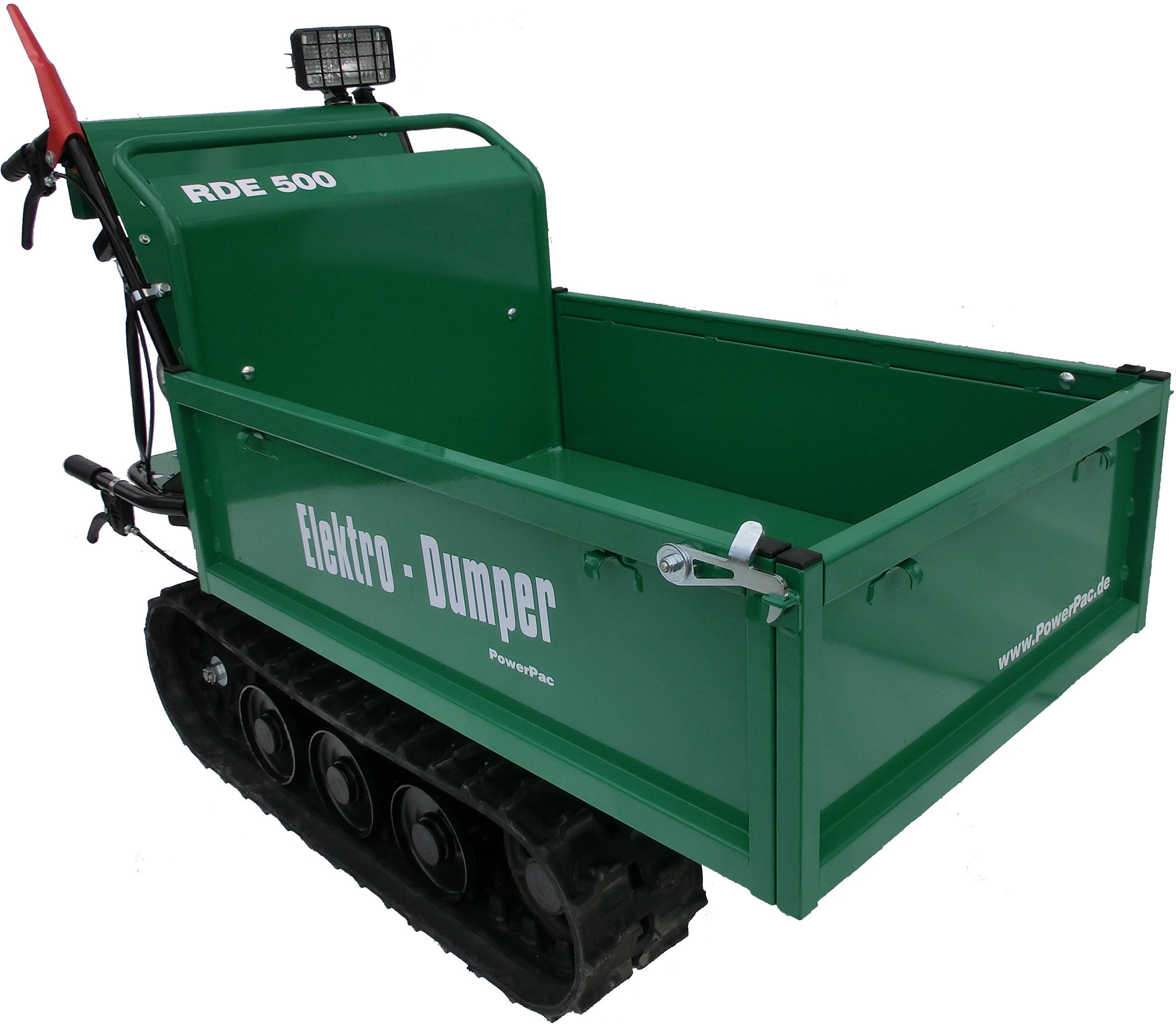 RDE500_Electric_Track_Dumper_PMI_Equipment