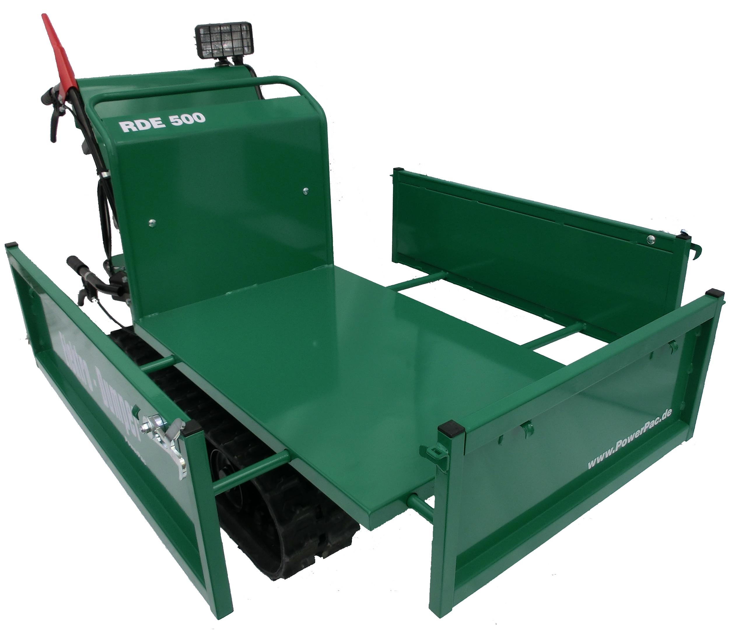 RDE500_Electric_Dumper_Tray_PMI_Equipment