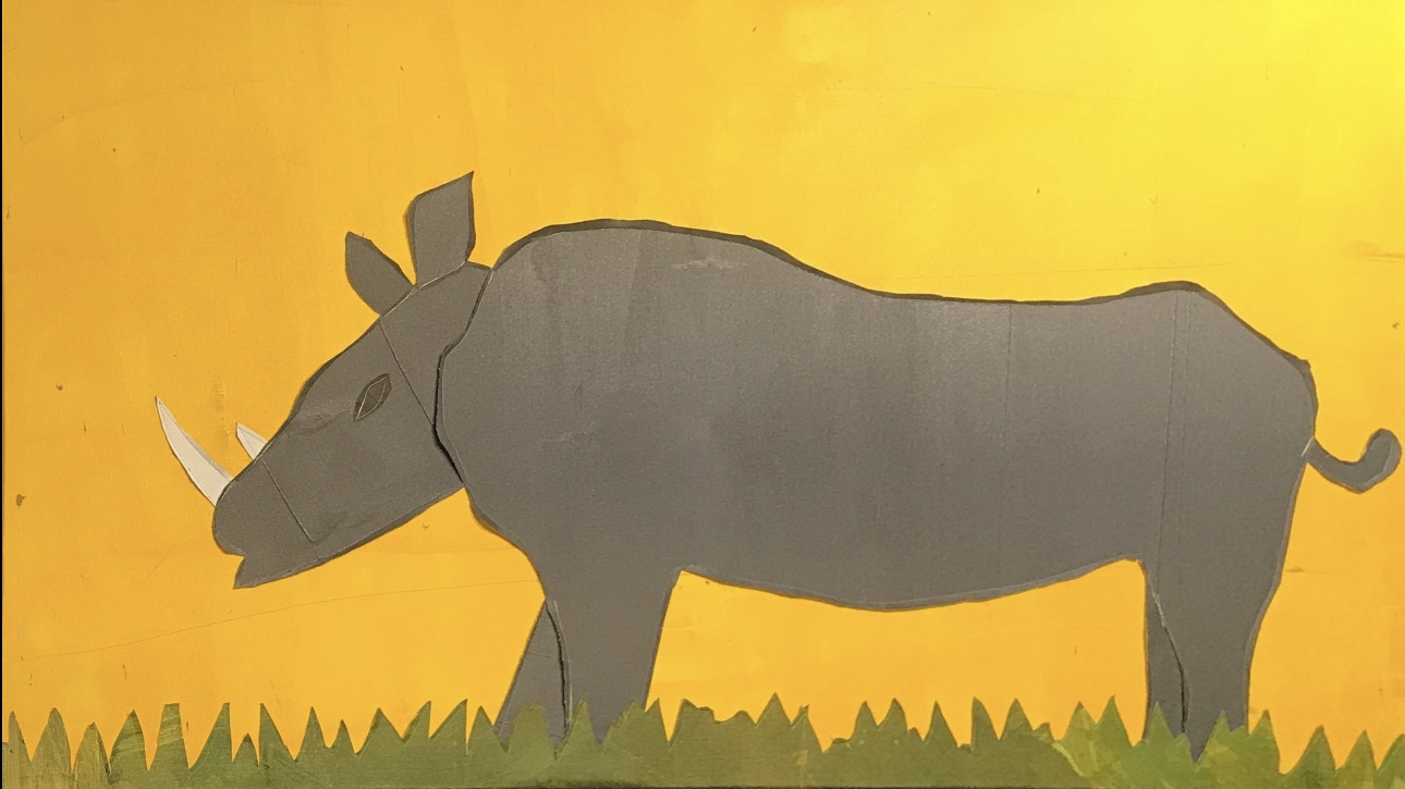 Rhino of the Jungle