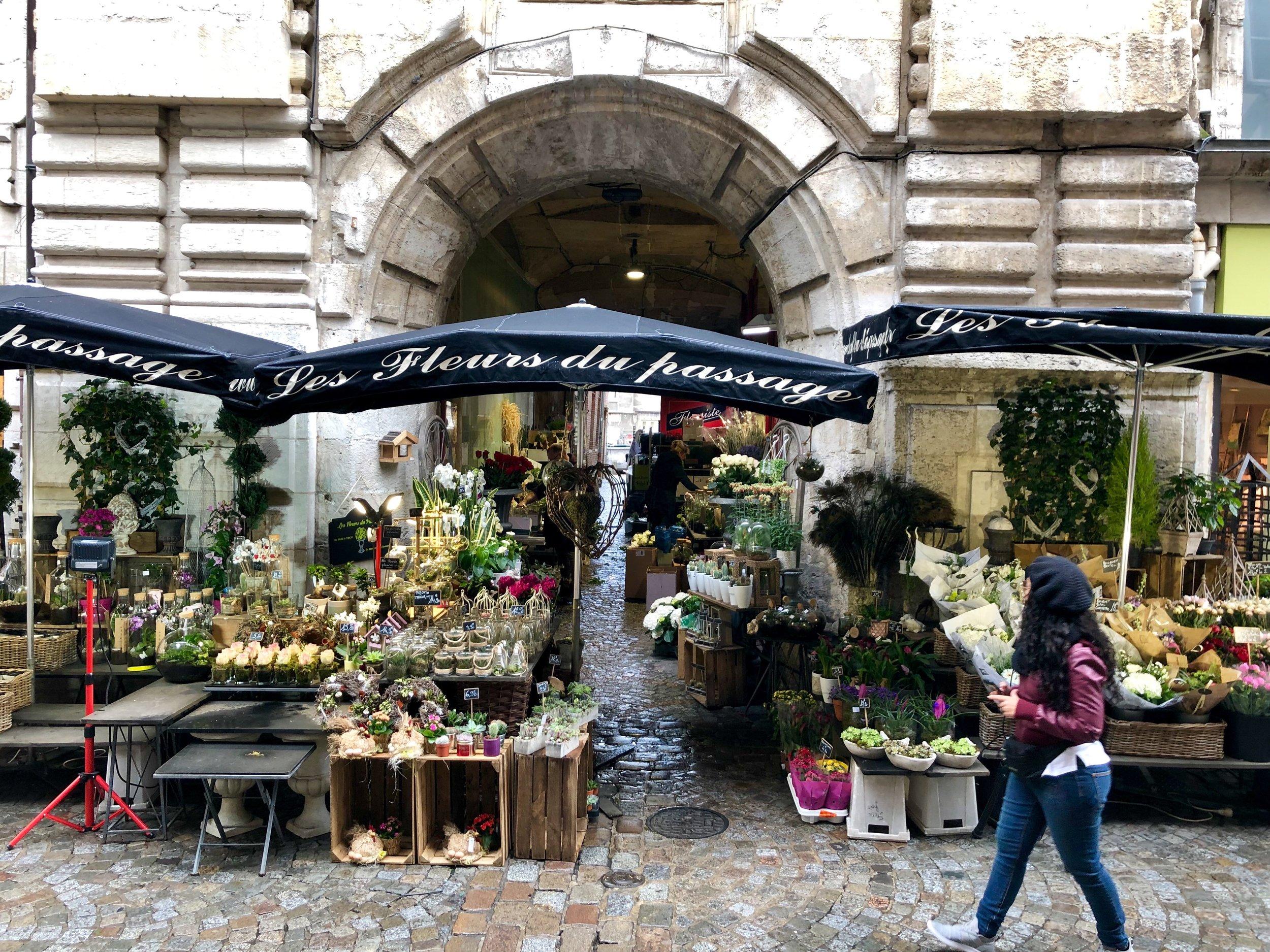 Les Fleurs du Passage  in Rouen, France