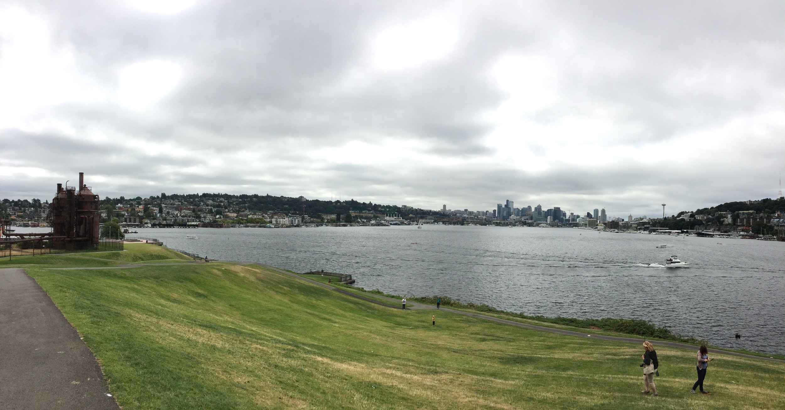 View from my run to Gasworks