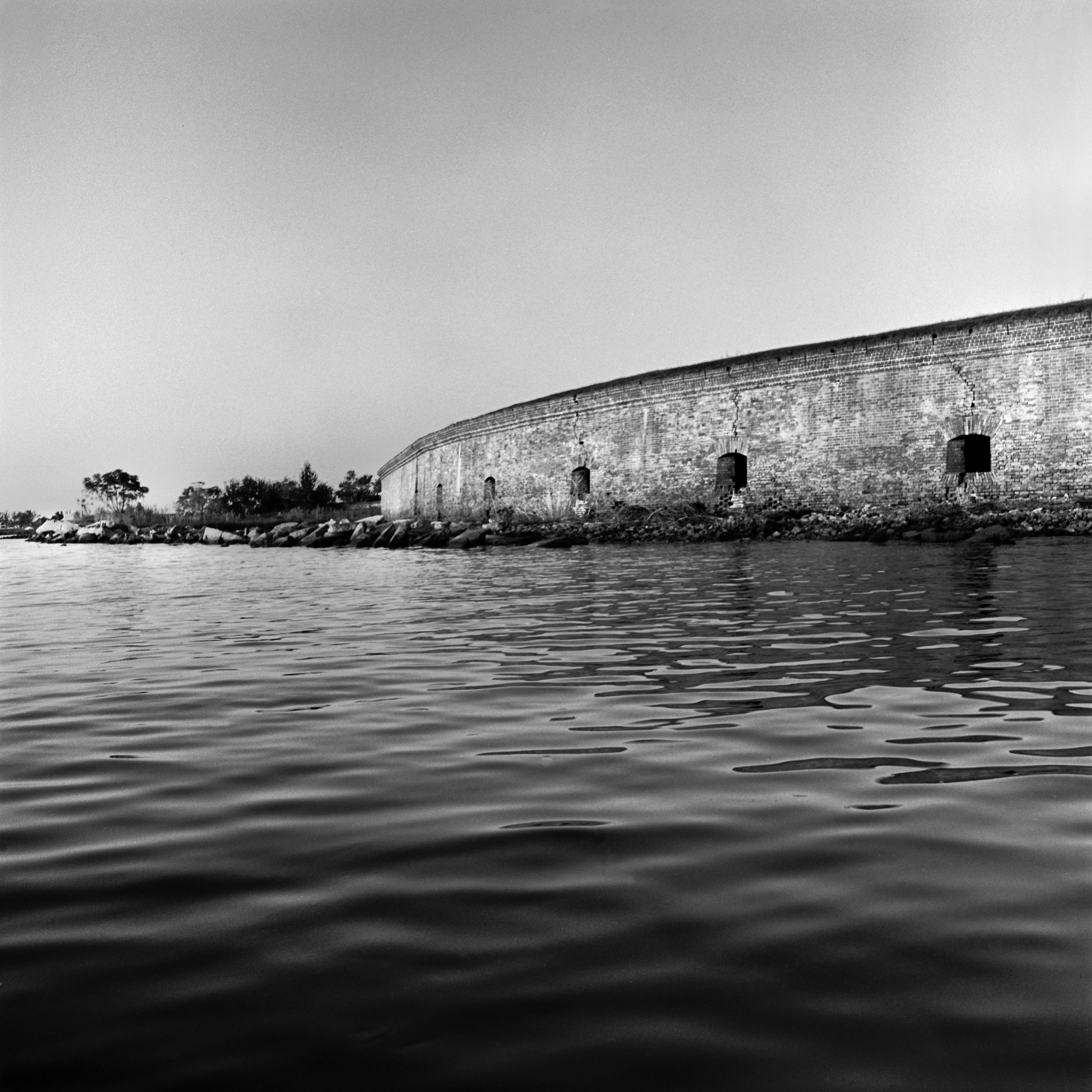 Seaward Casemate Eastern Face