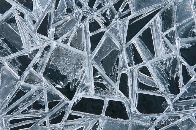 Ice breaking up