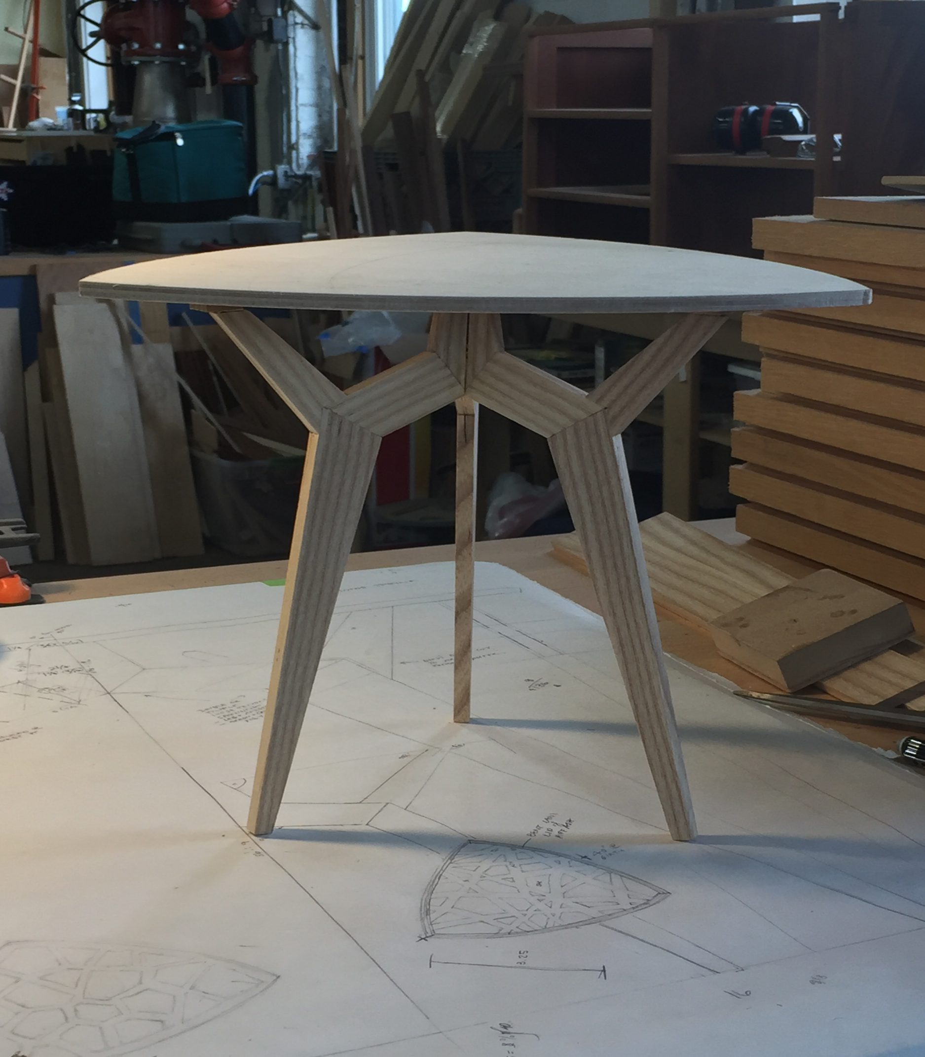 Come Spring/ Table model